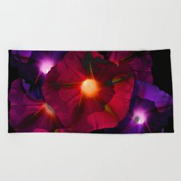 Morning Glory V Beach Towel