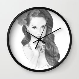 Burning Desire- LDR  Wall Clock