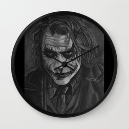 Let's Put A Smile On That Face Wall Clock