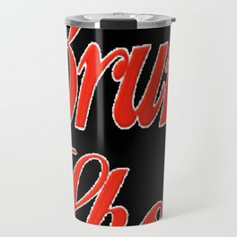 Bruni Shop Font Travel Mug