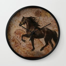 The Emperor's Stallion Wall Clock