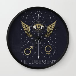 Le Jugement or The Judgement Wall Clock