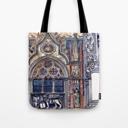 entrance to the Doge's Palace, Venice Tote Bag