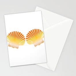 "Unique Mermaid Shirt For Mermaid Lovers Saying ""Mermaid Shells"" T-shirt Design Wheel Ocean Swim Stationery Cards"