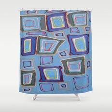 Newport Blue Shower Curtain