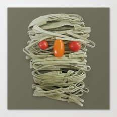 A Thing of the Pasta Canvas Print