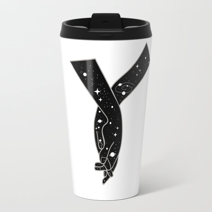 We are the universe Travel Mug
