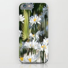 A Garden of White Daisy Flowers Slim Case iPhone 6s
