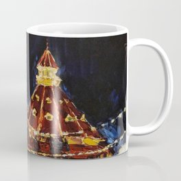 Hotel Del Coronado at Night Coffee Mug