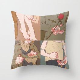 Cosette•Marius•Gavroche•Eponine Throw Pillow
