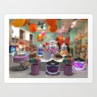 Candy Shop Still Life Art Print