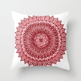 Sinful-Garnet Throw Pillow