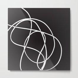 abstract line Metal Print