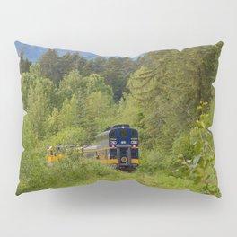 Knik River Mts. Pop Art - 4 Pillow Sham