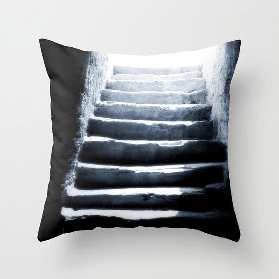 Light Step Throw Pillow