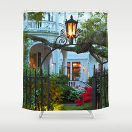 South Battery Spring Shower Curtain