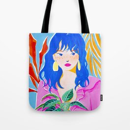 Plant Girl Tote Bag
