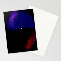 Moon Paint Stationery Cards