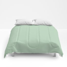 Simply Pastel Cactus Green Comforters