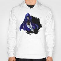 teen titans Hoodies featuring Teen Titans: Raven by JaDis