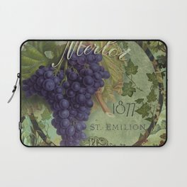 Wines of France Merlot Laptop Sleeve