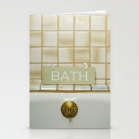 bath Stationery Cards featuring Bath by Misspeden