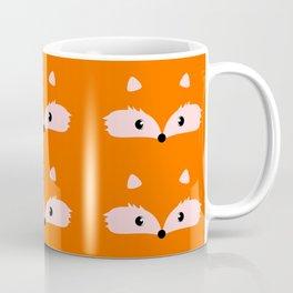 Fox faces Coffee Mug