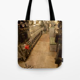 The USS Batfish SS-310 - In the Forward Engine Compartment Tote Bag