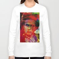 james franco Long Sleeve T-shirts featuring James  by Ganech joe
