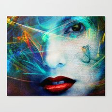 Beauty Girl XVII Canvas Print
