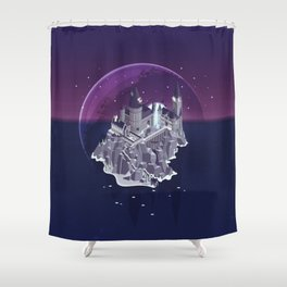 Hogwarts series (year 7: the Deathly Hallows) Shower Curtain