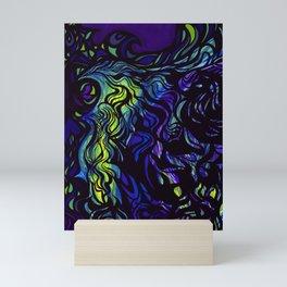 Rainbow Fire Mini Art Print