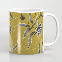 Queen of the Night - Gold Coffee Mug