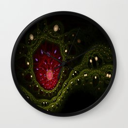 Bejeweled Wall Clock