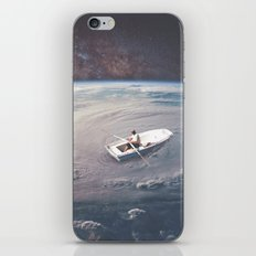 Rowing the Cosmos iPhone & iPod Skin