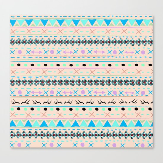 SWEET WINTER PATTERN Canvas Print