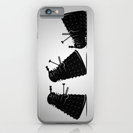 Go Home Dalek You're Drunk iPhone Case