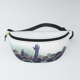 cncert crowd Fanny Pack