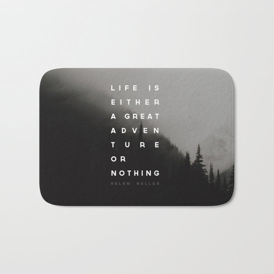Adventure or Nothing Bath Mat