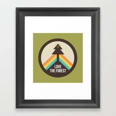 For the Love of the Forest Framed Art Print