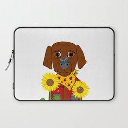 Dog Nature Lover Laptop Sleeve