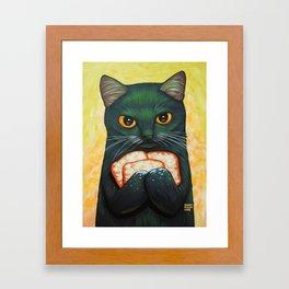 THREE BEIGNETS Framed Art Print