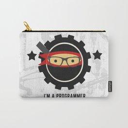 Programmer - Ninja Programmer Carry-All Pouch