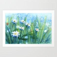 Daisies II Art Print