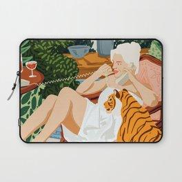 Gossip #illustration #painting Laptop Sleeve