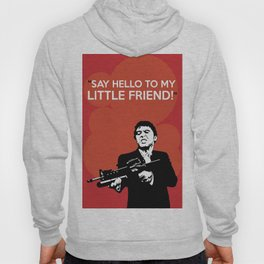 Scarface Say Hello to My Little Friend Hoody