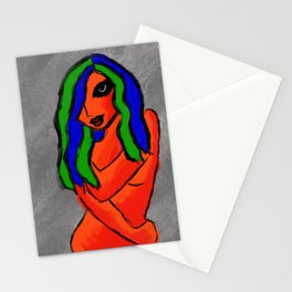 Lost Woman Stationery Cards