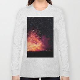 Kilauea Volcano Eruption. Long Sleeve T-shirt