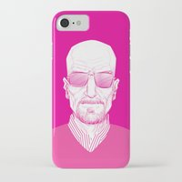 walter white iPhone & iPod Cases featuring Walter White by Ron Chan