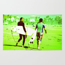 California Surfers Rug